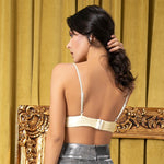 Missing You Gold Metallic Bralet Top - Fashion Genie Boutique