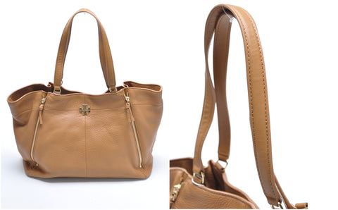 Tory Burch Ivy Tote in Bark