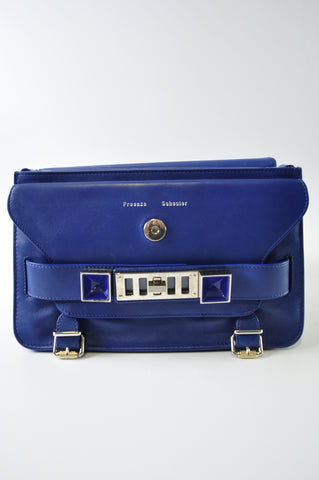 Proenza Schouler Classic Smooth Calf Leather in Royal Blue.