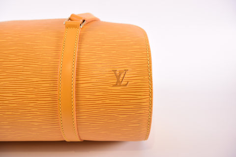 Louis Vuitton Soufflot in Yellow Epi Leather