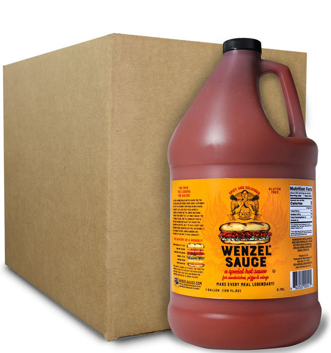 Wenzel Sauce Gallon Case (4-pack)