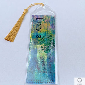 Original Art Mixed Media Bookmark 6