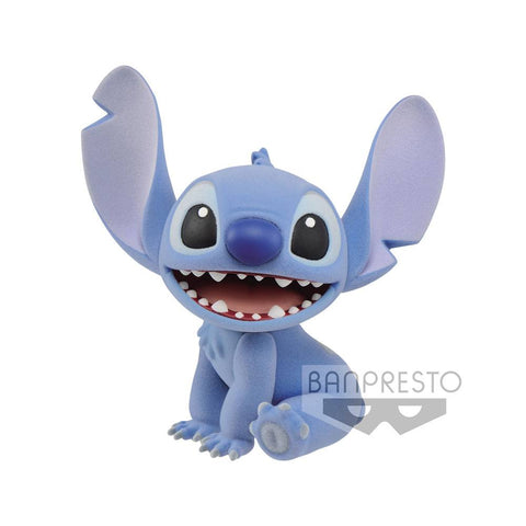 PREORDER - Disney Fluffy Puffy Mini Figure Stitch 9 cm
