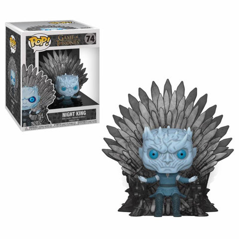 PREORDER - POP! FUNKO Game of Thrones POP! Deluxe Vinyl Figur Night King on Iron Throne