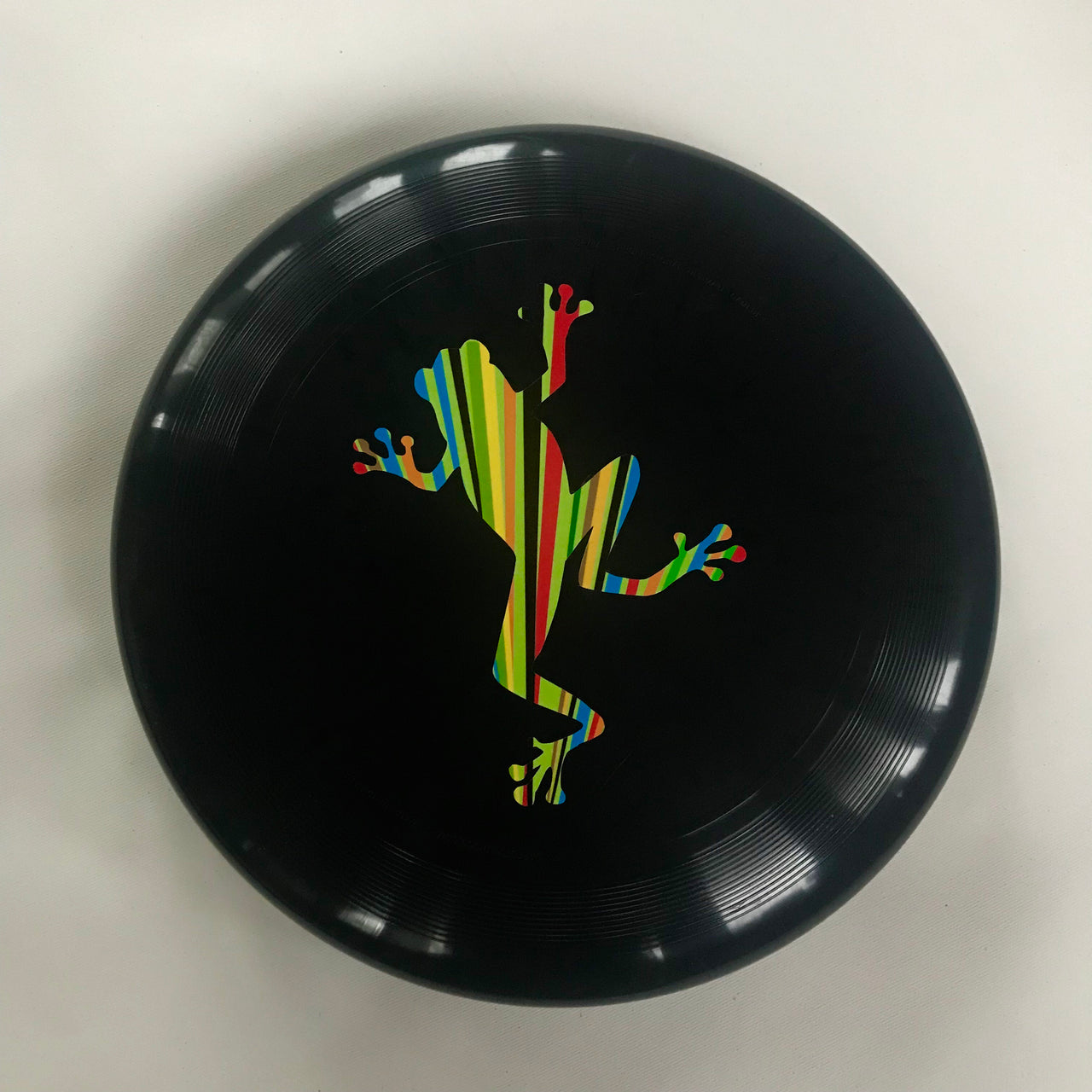 Multicolour Jumping Frog Frisbee