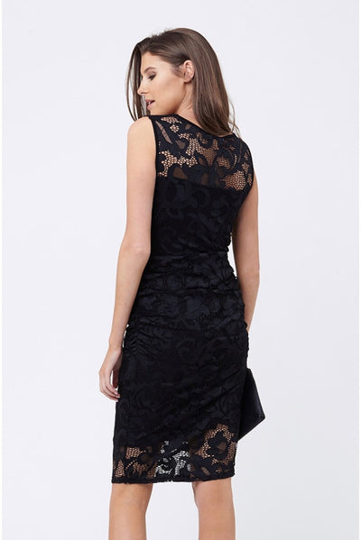 Ripe Maternity Eden Lace Dress - Black
