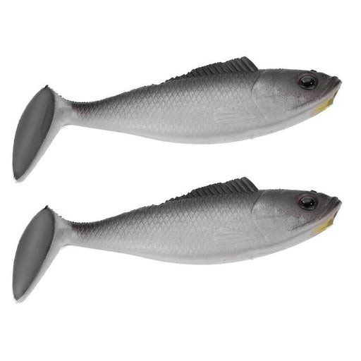 2Pcs 9G 9.5Cm T Tail Fishing Lures 3D Eyes Plastic Soft Lures For Carp Fishing-Unrigged Plastic Swimbaits-Outdoor Pro Store Store-Bargain Bait Box