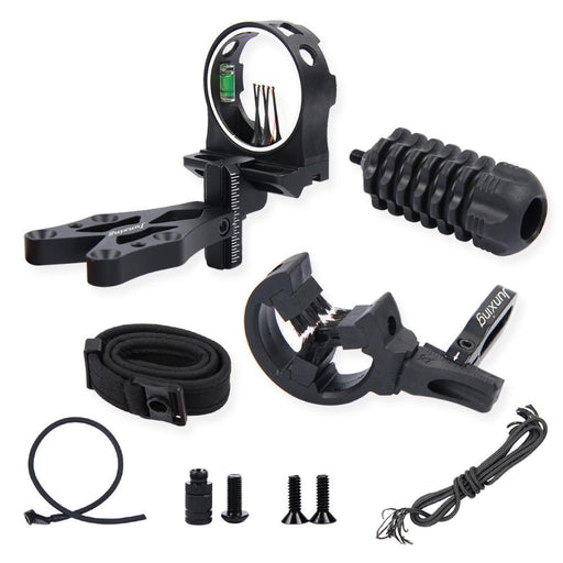 Compound Bow Archery Archer Combo Sight Kits Arrow Rest Shock Absorber Rest-Yunhua Shen's store-Bargain Bait Box