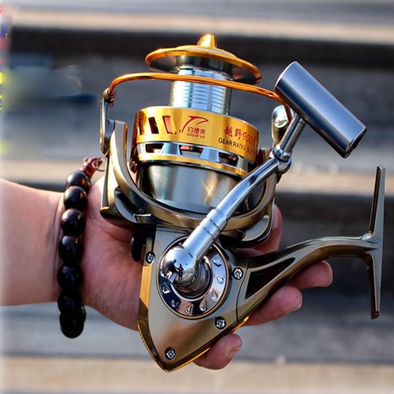 Fddl 8000 Full Metal Line Coil Big Long Shot Fishing Reel Carretilha Pesca-Spinning Reels-Outdoor Sports & fishing gear-Bargain Bait Box