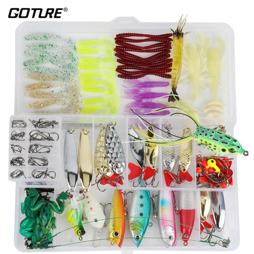 Fishing Kit 175Pcs/Set Combo Fishing Box-Mixed Combos & Kits-Bargain Bait Box-Bargain Bait Box