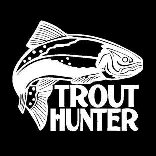 Fishing Trout Hunter Fishing Car Boat Sticker Fish Decal Posters Wall Decals-Fishing Decals-Bargain Bait Box-Pink-10x12m-Bargain Bait Box