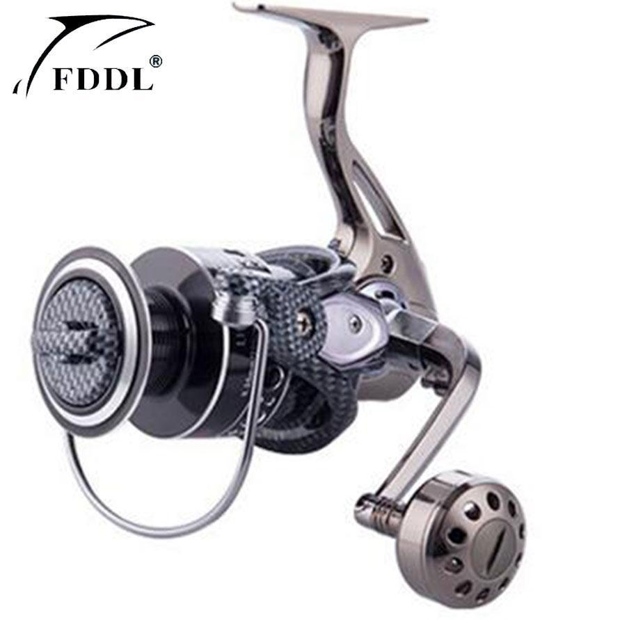 German Technology Hot Sale Fishing Reel Fishing Spinning Reel Full Metal Foot-Spinning Reels-RedMeet Fishing Store-2000 Series-Bargain Bait Box