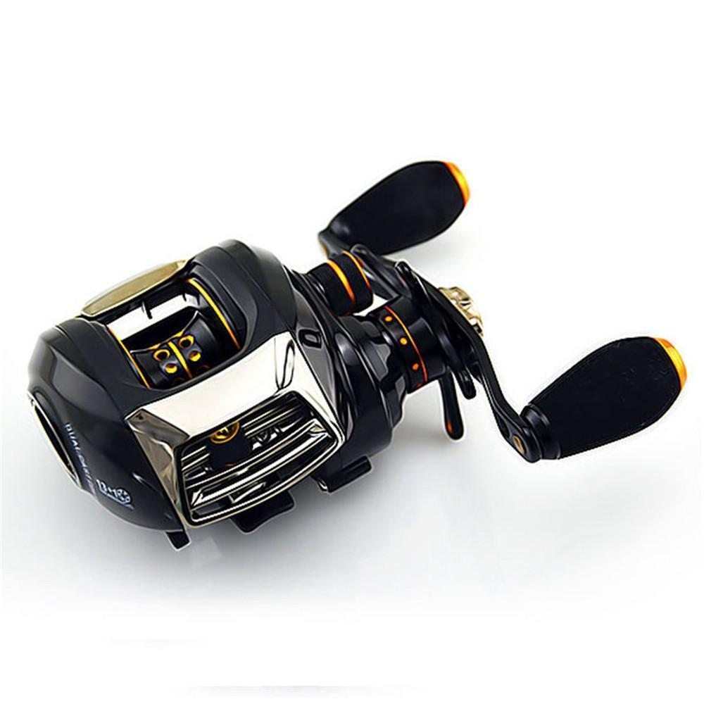 High Qulity Baitcasting Fishing Reel 13+1 Bb Left/Right Hand All Metal-Baitcasting Reels-Sequoia Outdoor Co., Ltd-Bargain Bait Box