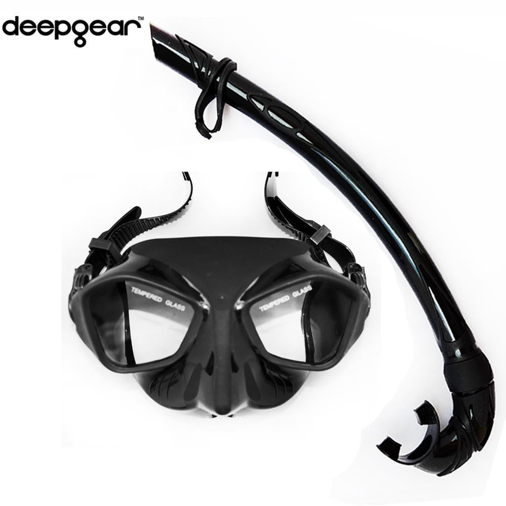 Top Spearfishing Gears Extreme Low Volume Silicon Diving Mask Flexible Folded-Spearfishing-Bargain Bait Box-Bargain Bait Box