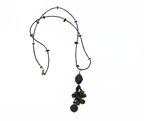 Hand Crafted Lapis Lazuli Necklace