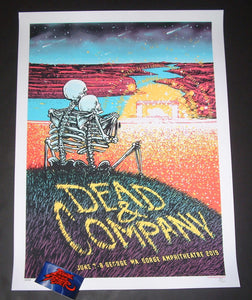 Barry Blankenship Dead & Company George Gorge Poster Artist Edition 2019