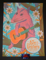 Half and Half Avett Brothers Poster Columbia 2018 Artist Edition Night 2