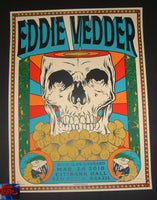 Ian Williams Eddie Vedder Sao Paulo Brazil Poster Artist Edition 2018
