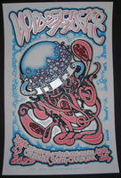 J.T. Lucchesi Widespread Panic Poster Columbia 2013 Artist Edition S/N