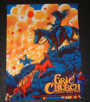 James Flames Eric Church Greensboro Poster Artist Edition Night Two 2019