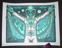 Jim Mazza Foo Fighters Poster Memphis 2018 Artist Edition