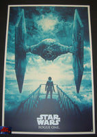 Karl Fitzgerald Star Wars Rogue One Movie Poster 2016