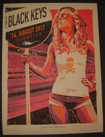 Lars Krause Black Keys Hannover Germany Poster 2012 S/N