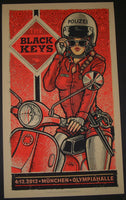 Lars Krause Black Keys Poster Munich Munchen Germany 2012 Artist Edition S/N