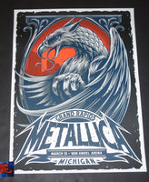Maxx242 Metallica Grand Rapids Poster 2019