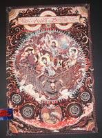 Miles Tsang Avett Brothers Albuquerque Poster 2018 Artist Edition