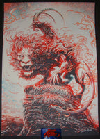 Miles Tsang Widespread Panic Poster Red Rocks 2017 Artist Edition S/N