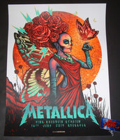 Munk One Metallica Brussels Poster 2019