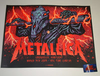 Munk One Metallica Louisville Poster 2019