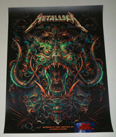 N. C. Winters Metallica Buffalo Poster Artist Edition 2018