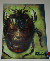 N. C. Winters Nine Inch Nails Chicago Poster Acid Burn Variant Artist Edition 2018