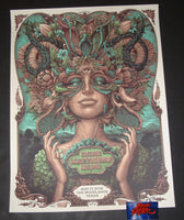 N C Winters Dave Matthews Band Woodlands Poster Serene Variant Artist Edition 2019