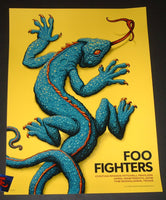 NC Winters Foo Fighters Poster Woodlands Texas 2018