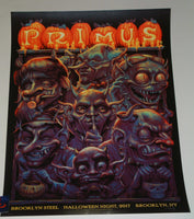 N.C. NC Winters Primus Poster New York 2017 Artist Edition