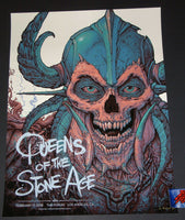 N.C. NC Winters Queens of the Stone Age Poster Los Angeles Variant 2018 Artist Edition