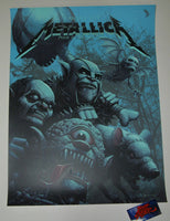 Ron Ransom Metallica Kansas City Poster Artist Edition 2019