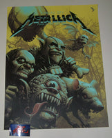 Ron Ransom Metallica Kansas City Poster 2019