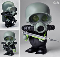 Squadt pLAYGE Fr0g s001 and K11 Spot Swamp Dwllr Vinyl Figure 2012