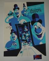 Tom Whalen Lonesome Ghosts Cartoon Poster Mondo Disney Mickey Mouse 2012