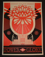 Shepard Fairey Green Power Art Print 2014 Obey Giant