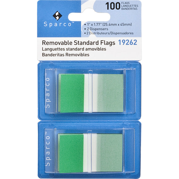 Sparco Removable Standard Flags Dispenser