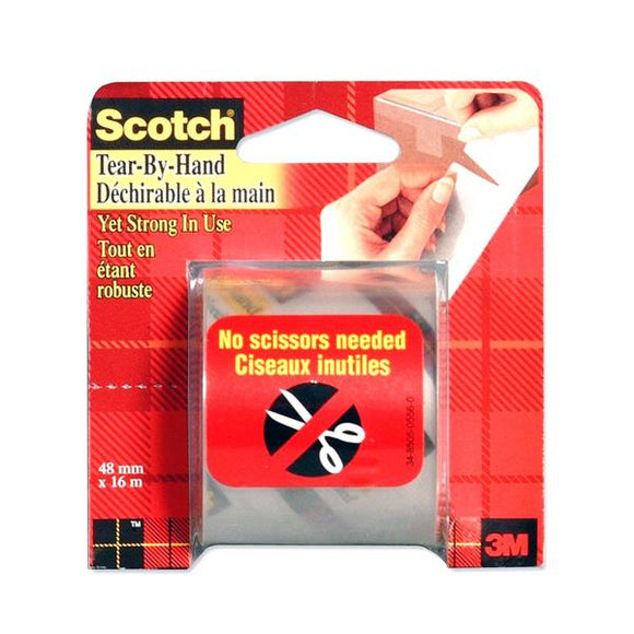 3M Scotch Tear By Hand Packaging Tape