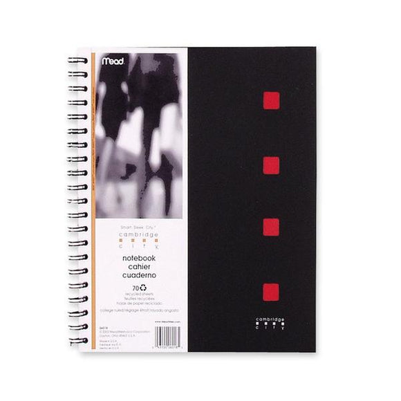 Hilroy 06016 Cambridge City Notebook