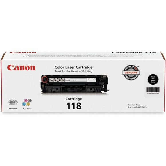 Canon CART118BK Ink Cartridge - Inkjet - 3400 Pages - 1 Each