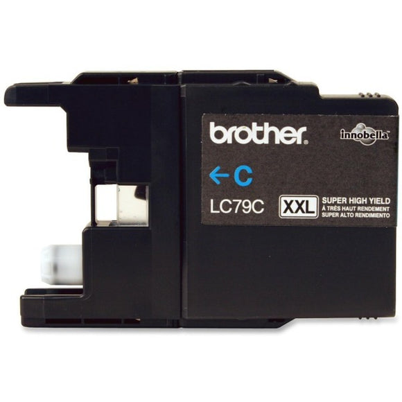 Brother LC79CS Ink Cartridge - Inkjet - 1200 Pages - 1 Each