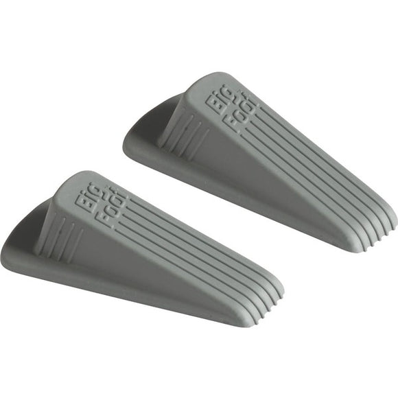 Master Mfg. Co. Big Foot Doorstop  Grey